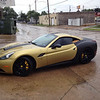 "Skinzwraps Matte Black on a Ferrari in Dallas, TX  <a href=""http://www.skinzwraps.com"">http://www.skinzwraps.com</a>"