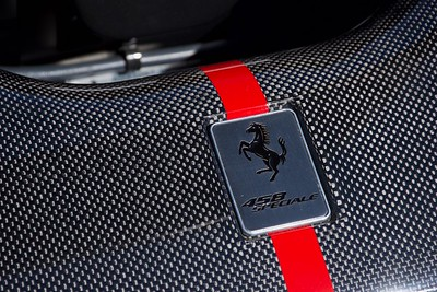 Ferrari 458 Speciale Badge