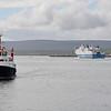 Northlink Ferries MV Hamnavoe_Orkney Ferries MV Graemsay Stromness Harbour 2 Jul 12