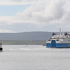 Northlink Ferries MV Hamnavoe_Orkney Ferries MV Graemsay Stromness Harbour 1 Jul 12