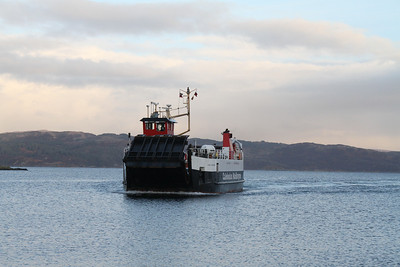 Loch Tarbert approaches her eponymous slipway