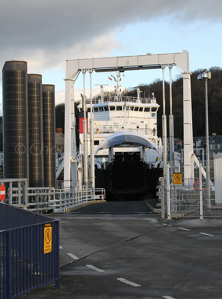 Coruisk at linkspan, Rothesay