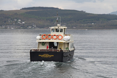 The 1455 Sunday departure from Gourock for Kilcreggan 22nd April 2012