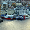 Fast ferries in Bergen harbour