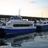 Fast ferry Nordic II in Bergen Harbour