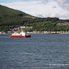 Sound of Scalpay moves up to Hunter's Quay. from layover at Sandbank, to take up service runs