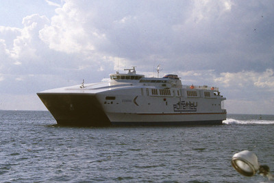 PolFerries Boomerang en route from Copenhagen to Malmo