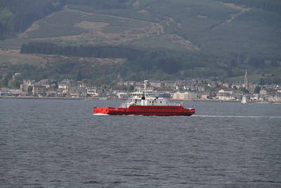 Sound of Scarba heads for McInroys Point