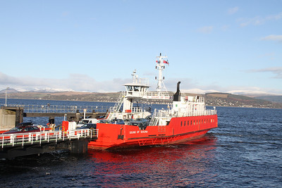 Sound of Shuna at McInroy's Point