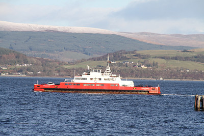 Sound of Scalpay heads across river for Hunters Quay