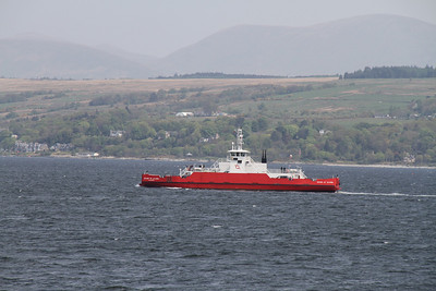 Sound of Scarba heads for Hunters Quay