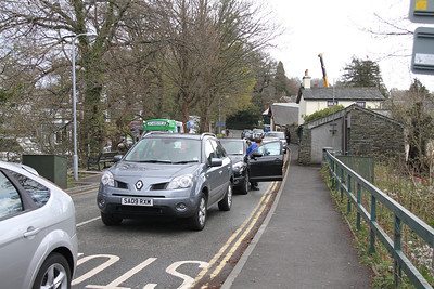 Windermere side queues