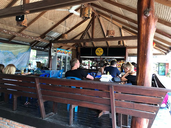 Trang Had Yao pier restaurant