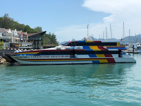 Ferry from Koh Lipe to Langkawi