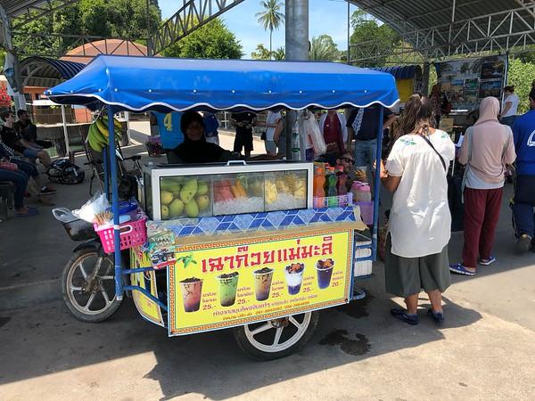 Fresh fruit sold on Had Yao Pier