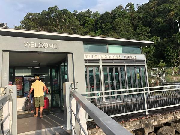 Immigration Office at Telaga Harbour Langkawi