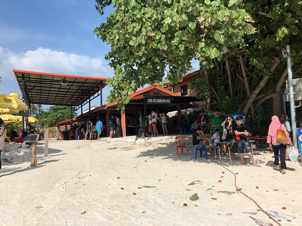 Koh Lipe Immigration is located on the beach