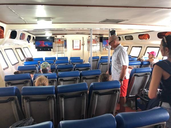 Koh Lipe to Langkawi Ferry Interior