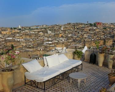 Terrace at Dar Seffarine