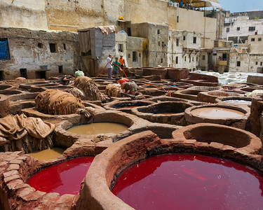 T3421 Fez Tannery