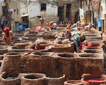T3446 Fez Tannery