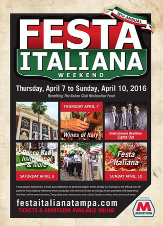 19th Annual Festa Italiana @ Centennial Park