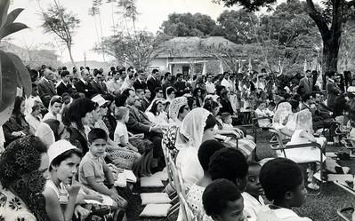 Visita do Bispo 28 Julho 63- Dundo