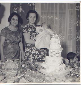 baptizado primeiro filho Anita Bastos ( Manel) igreja Dundo 24 04 67