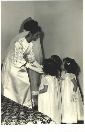 Andrada. 29/09/1968. NÉ JOSEFA E ANTÓNIO CAMPOS Noiva e damas