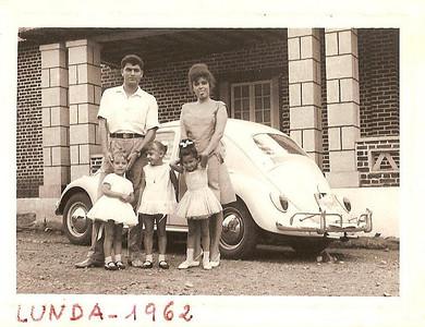 """Andrada 1962 - Hospital Casamento da ISABEL AMARAL ...?, Vera Lucia """"Júlio Conceição"""" Meninas: Carla medeiros, Guida Tavares e  Mica Ressurreição."""