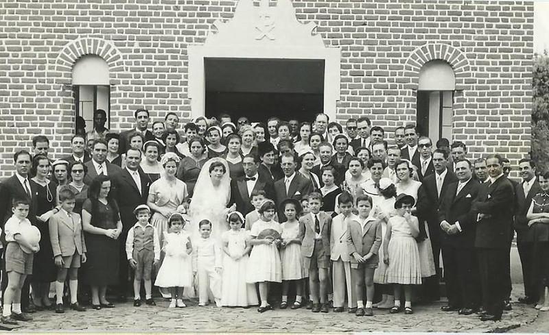 Casamento Botelho e Carmen Pereira ( filha do Humberto Pereira)