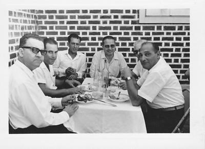 Andrada- casa dos Tavares: Pinto enfermeiro, Adalberto, Rui Inacio, Amaral, Ramos e Valente