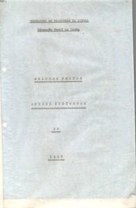 1957 - Notas Vitor Santos