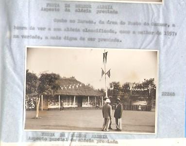1957 Aldeia - area do Posto do Canzar