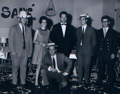1968-69 Mário Freitas, Fernanda Ferreira da Silva, Canto Moreira, Zé Manel Pinho Barros, Zé Luis Vasco Sá e Manel Fernado Pinho Barros