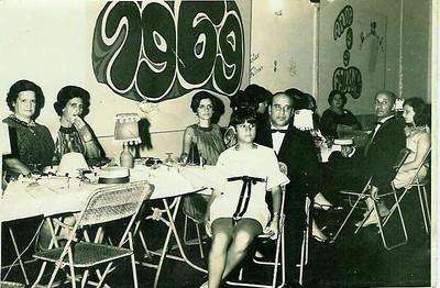 1968-69 Regina Ferreira da Silva, Adelaide Ze' Santos, Nanda Ferreira da Silva, Ferreira da Silva e Paula Pinho Barros Casal Fontinhas, Ana Maria Pereira, Casal Humberto Pereira