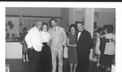 Lucapa 1970-71 Casal Mota, dr. Miranda Barata e casal Mendonca