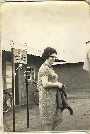 Inauguração da aldeia da Cacanda - 1968 Rua Cap. Patuleia sra do Patuleia
