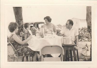 Fernanda Gastao e casal Cavalheiro e filha Isabel
