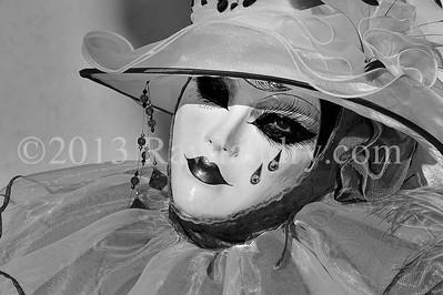 Carnaval de Venise 2013_DSC8773 B&W 150dpi