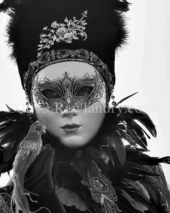 Carnaval de Venise 2013_DSC0271 B&W LOW