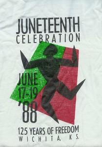 """Wichita """"Juneteenth"""" 1988."""