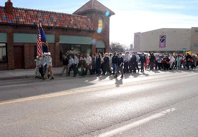 Martin L King Parade Jan 17, 2015