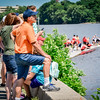 Family and friends come out to watch the Festival Regatta and cheer on the racers. SUN/Caley McGuane