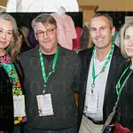 Betty and Kurt Oliver, Jason Middleton and Catherine Fogarty.