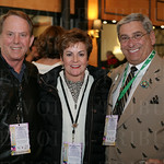 Mike and Julie Henson and Harry Dennery.