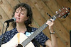 Julee Glaub  performing at the 2005 Festival for the Eno.