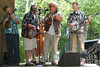 GrassStreet Bluegrass Band playing for the Apple Chill Cloggers.