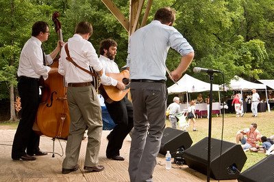 2008 Eno Festival-1600.jpg   Chatham County Line performing at the 2008 Festival for the Eno