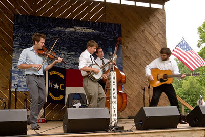 2008 Eno Festival-1612.jpg   Chatham County Line performing at the 2008 Festival for the Eno